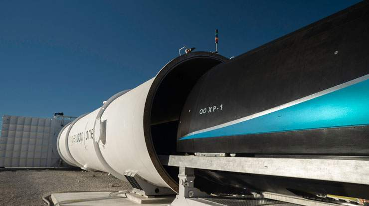 Virgin Hyperloop One aims to use pods propelled by magnets and solar energy to move passengers and cargo at speeds of 1,200 km/h