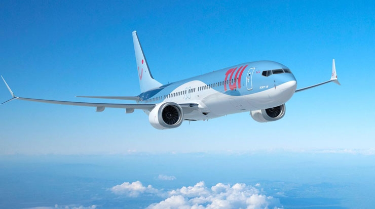 TUI Group Receives its First Boeing 737 MAX 8 Aircraft