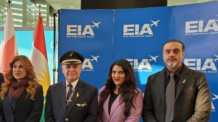 Gulf Air returned to Erbil with three weekly flights
