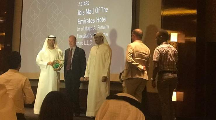 Two Seasons Hotel awarded by the Dubai Sustainable Tourism