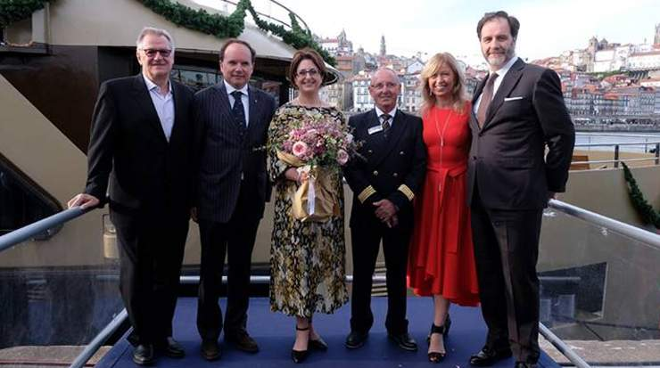 Celebrations mark arrival of company's second Ship in Portugal; AmaWaterways