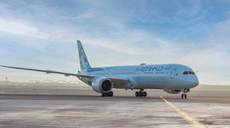 Etihad Tests for Sustainability with First 2021 Ecoflight