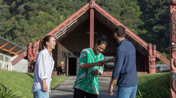 Tourism New Zealand is working with Māori Tourism and a range of stakeholders to incorporate people and culture into New Zealand's destination brand