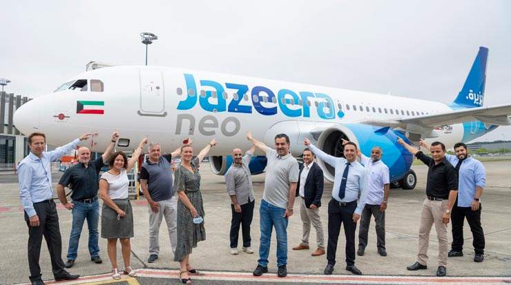 Jazeera Airways Takes Delivery of Seventh Airbus A320neo