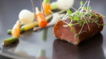 Air France Welcomes Michelin Chef's Menu