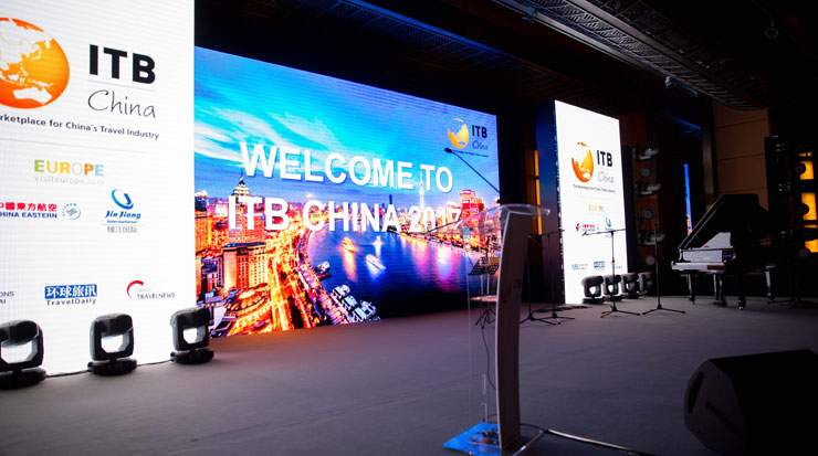 As the largest exhibitor, Europe will again have a strong exhibition presence at this year's ITB China