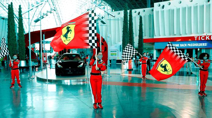 Ferrari World and Warner Bros. World Abu Dhabi re-Open