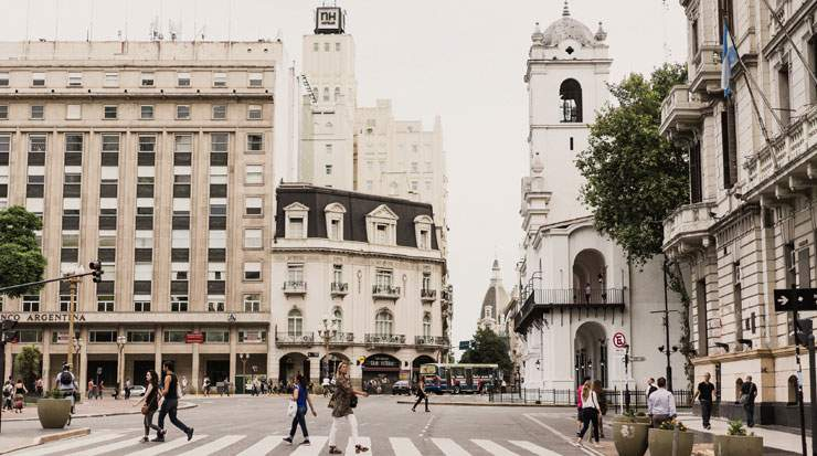 One of the main attractions is Buenos Aires' centre, Plaza de Mayo, lined with stately 19th-century buildings
