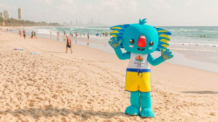 GC2018's mascot is Borobi, the word Gold Coasts's Yugambeh aboriginal people refer to as a Koala