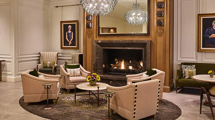 The Whitley, a Luxury Collection Hotel, Atlanta Buckhead Lobby Hearth