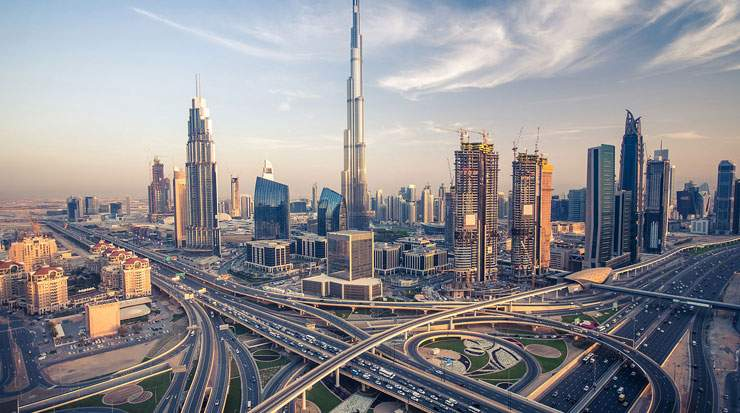 The peak tourist season in Dubai is from October to April