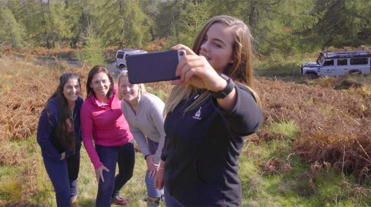 VisitScotland launched golf campaign encouraging woman