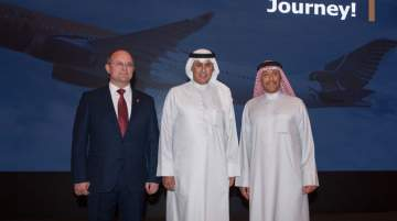 Gulf Air announced wide-scale plans to grow its business