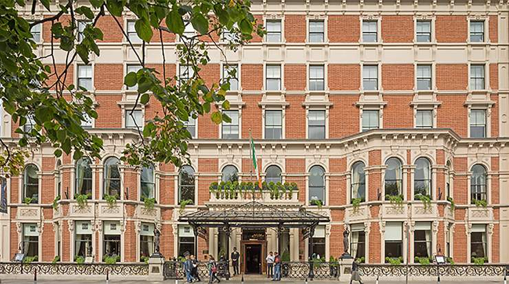 The Shelbourne Hotel Exterior