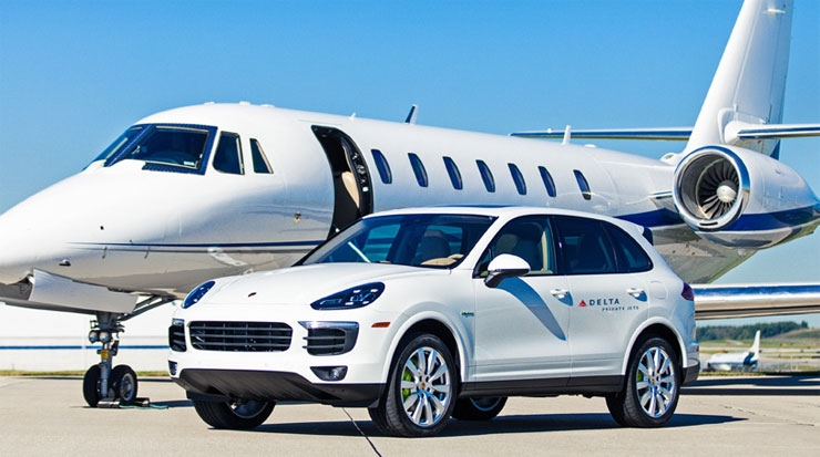 Porsche Added to Delta Private Jet Inventory