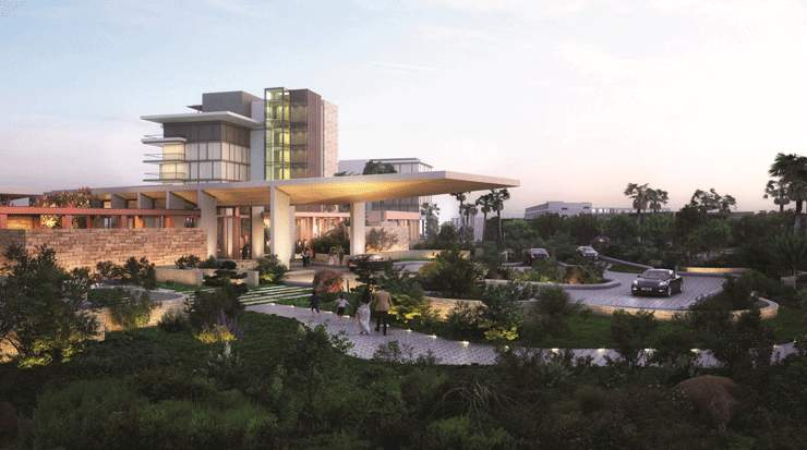 Artist impression of Grand Hyatt Limassol