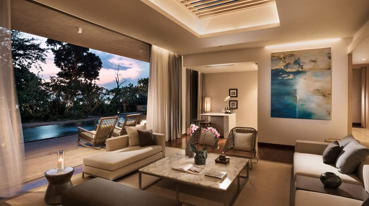 Anantara Desaru Coast Resort & Villas - Residence living room