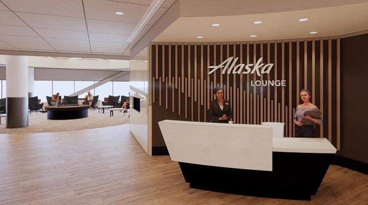 Alaska Airlines: Plans for Lounge at San Francisco International Airport