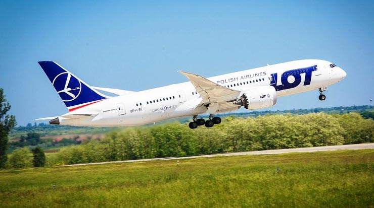 LOT Announced New Flights Between Warsaw and Washington D.C.