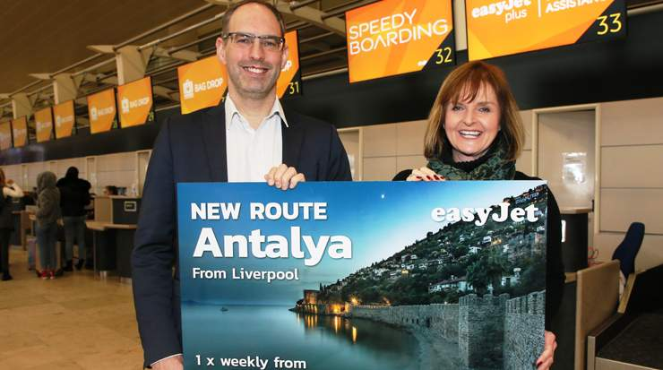 easyJet Announced New Route from Liverpool to Antalya