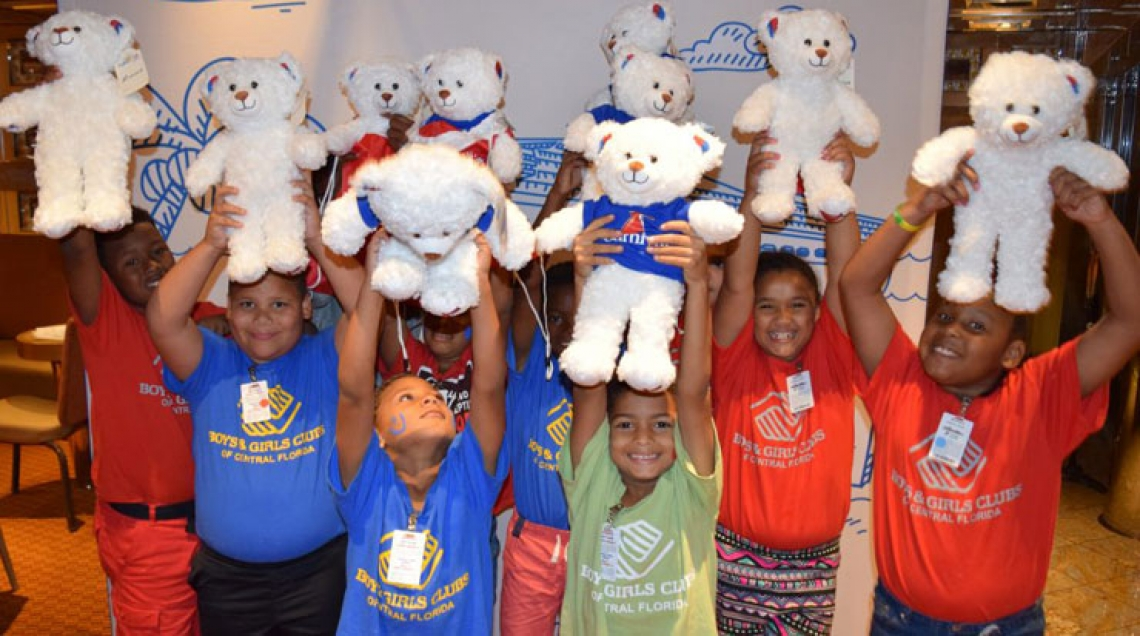 Carnival Cruise Line Hosts Build-A-Bear Day