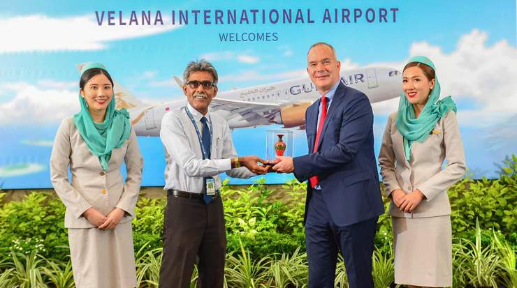 Celebratory event for Gulf Air's Inaugural Maldives flight
