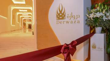 Premium Derwaza Lounge at the Kuwait International Airport
