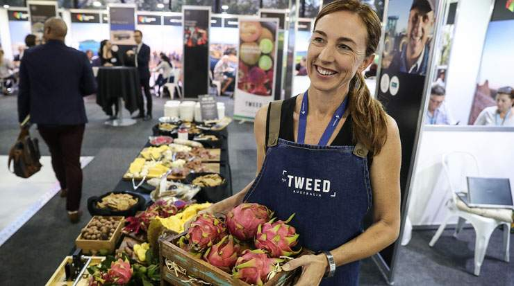 Australia's travel-related trade products and services were showcased during ATE1