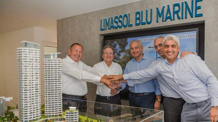 Consortium of Two Companies Takes Over the Construction of Limassol Blu Marina