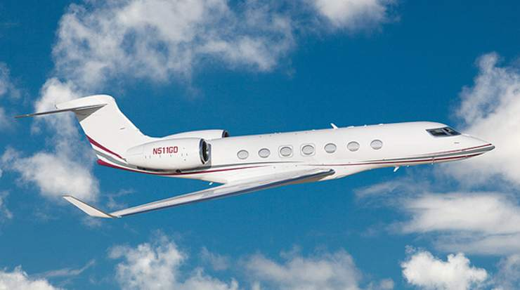 Gulfstream G500 executive jet of Qatar Executive
