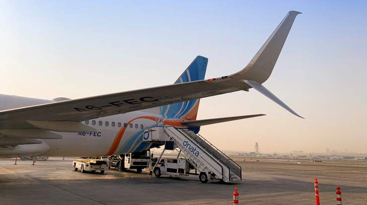 flydubai introduces Split Scimitar Winglets