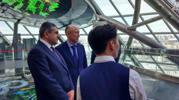 Pololikashvili visited the Museum of Future Energy during his visit