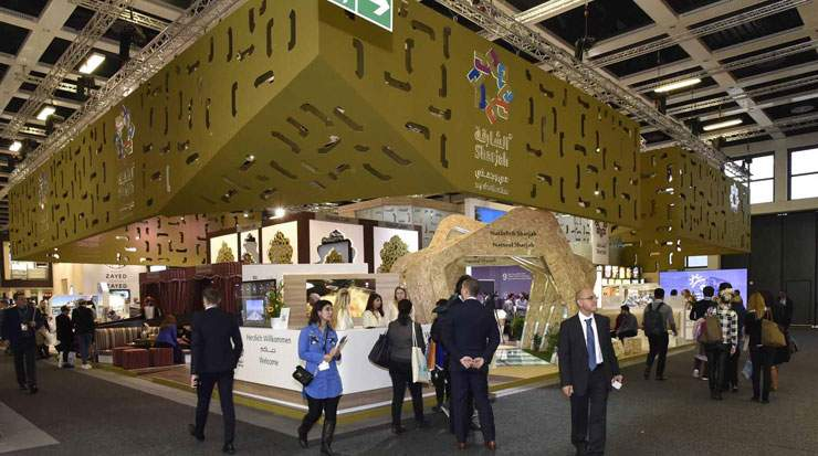 Sharjah's pavilion at ITB Berlin was popular among European visitors