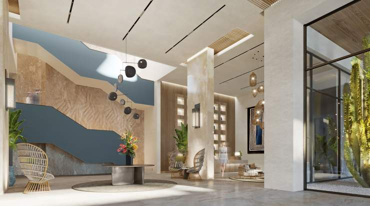 Rendering of Four Points by Sheraton São Vincente, Lag