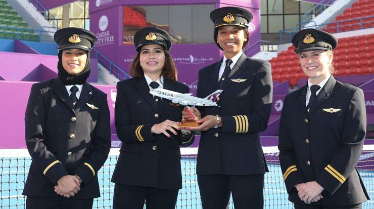 Qatar Airways is among the event's main sponsors