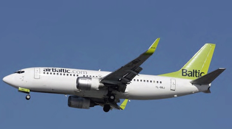 Increase in Passengers for airBaltic