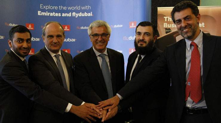 flydubai's flights to Catania started on June 13
