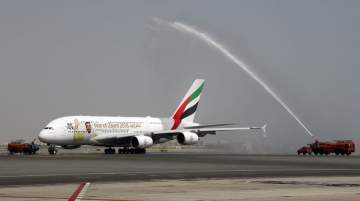 Emirates inaugurated its first service to Muscat in 1993