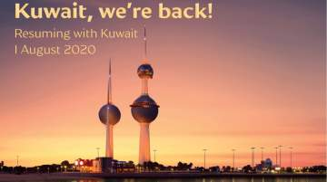 Gulf Air Welcomed Back Kuwait to its Network