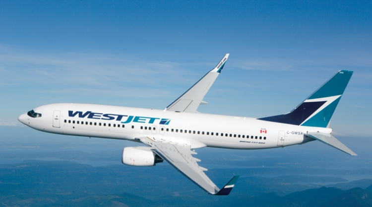 WestJet Reports Record October Load Factor