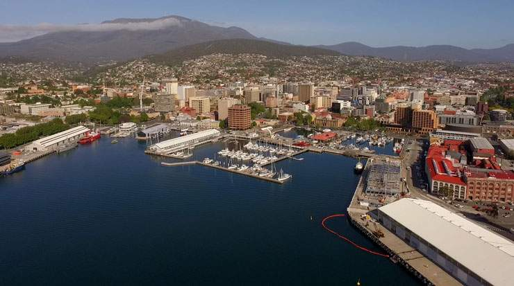 An estimated 627,000 people visited Tasmania during 2017