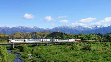 Before the earthquake the Coastal Pacific carried about 43,000 passengers into the Marlborough/Kaikoura regions during the summer season