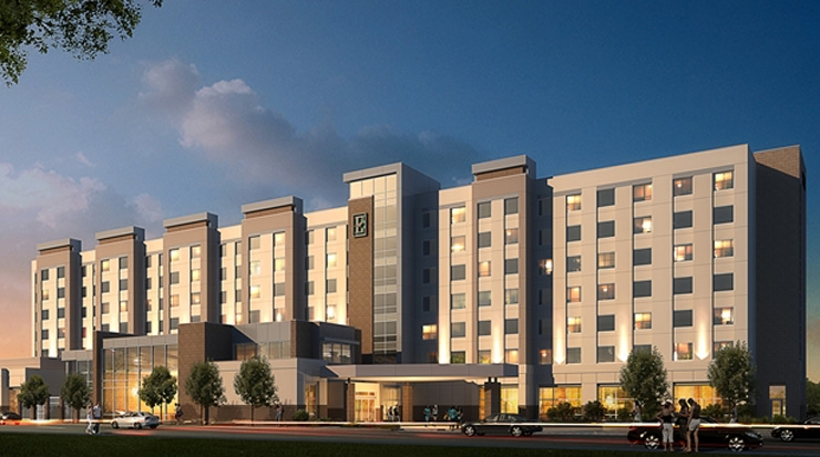 Embassy Suites by Hilton College Station rendering