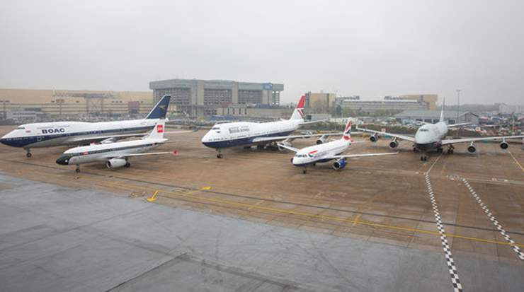 BA: all four heritage liveries