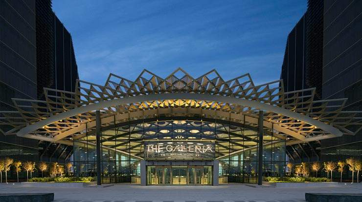 Versace Opens New Boutique at the Galleria Al Maryagh Island