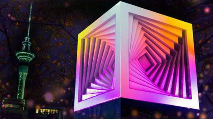 Auckland revealed Bright New Winter Festival