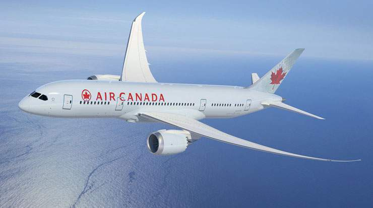 Air Canada's route network services 182 destinations worldwide