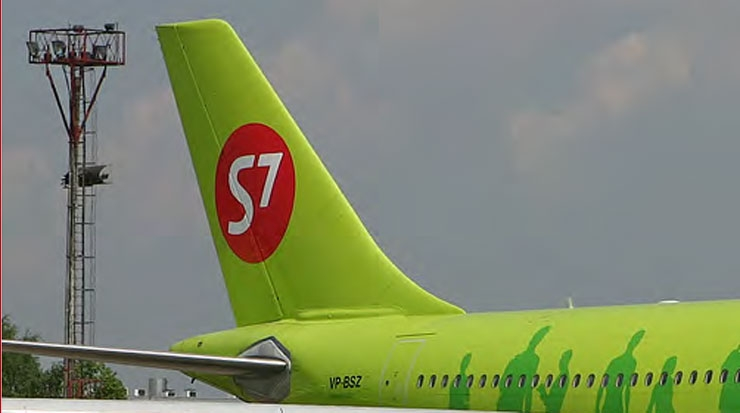 S7 Airlines Launched its New Route Network