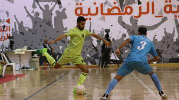 SRFC featured 16 teams overall, competing in the four-group futsal knockout competition