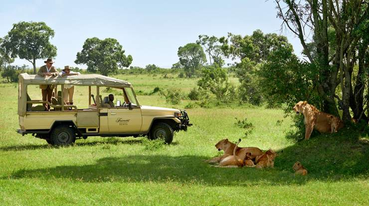 Fairmont mara-game drive